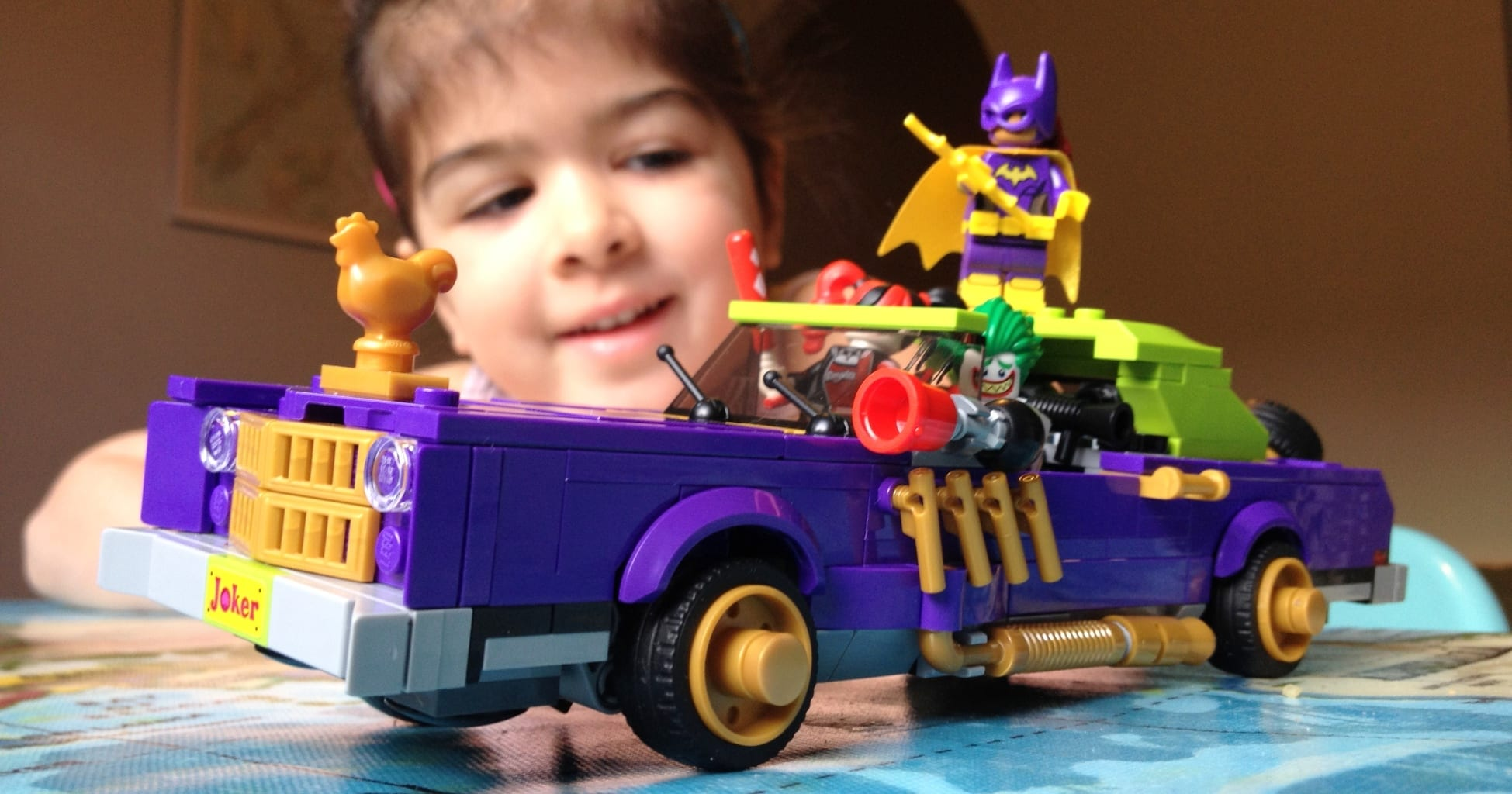 The Lego Batman Movie The Joker Notorious Lowrider Set 70906