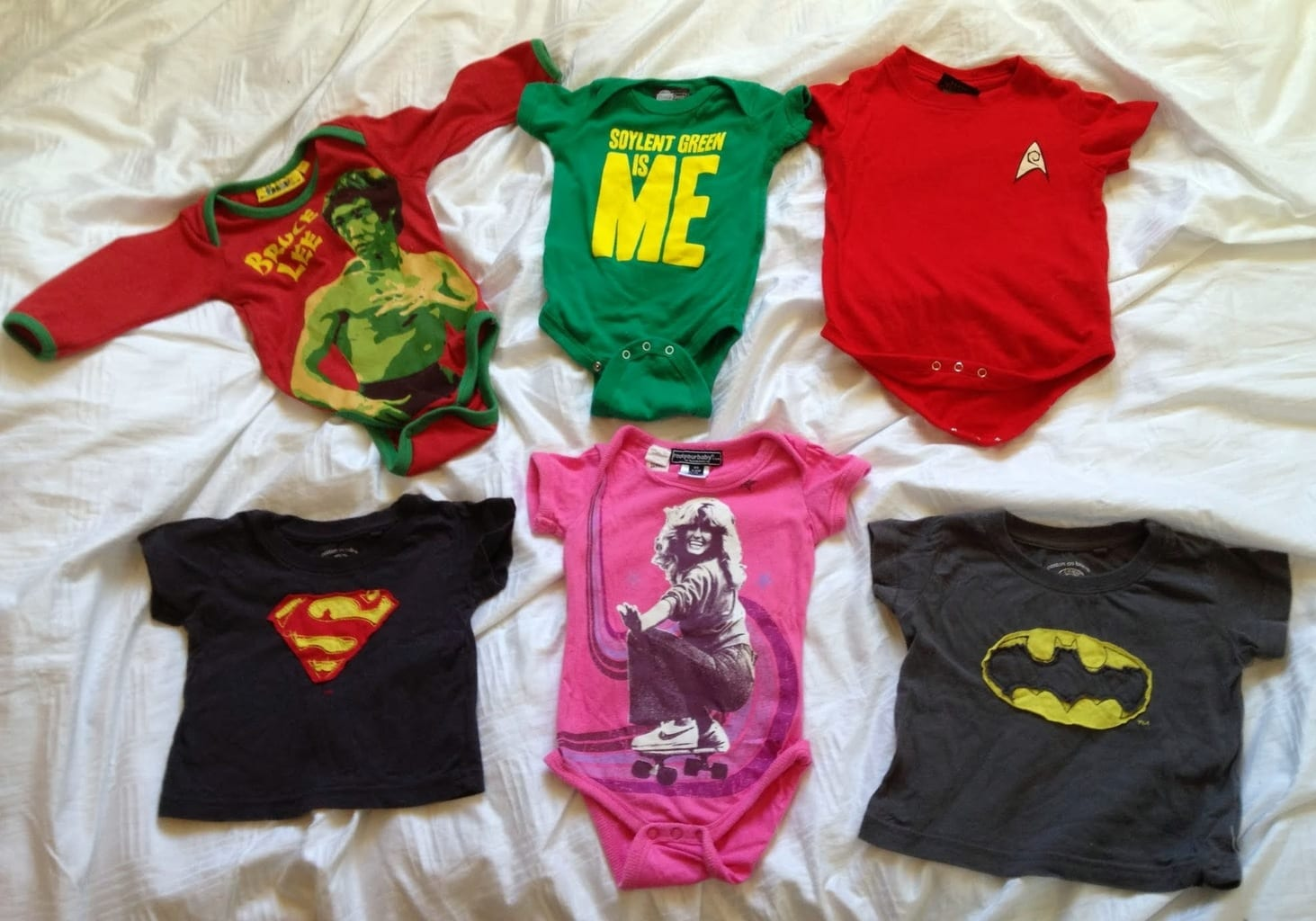Geeky Baby Clothes Man Pink