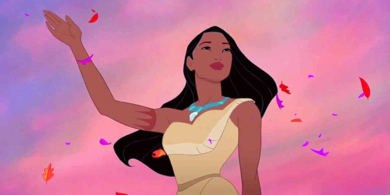Pocahontas 1995 Disney Princess Of Colour Crop Man Vs Pink